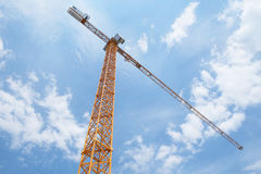 The image of crane Royalty Free Stock Photos