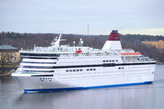 Image of a cruise ship Royalty Free Stock Image