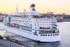 Image of a cruise ship Royalty Free Stock Photography