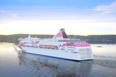 Image of a cruise ship Royalty Free Stock Photos