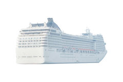 Image of a cruise ship Stock Photos