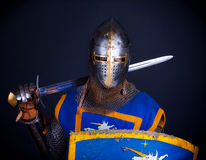 Image of crusader Royalty Free Stock Photo