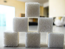 Image of cube sugar Stock Photos