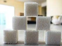 Image of cube sugar Stock Photos