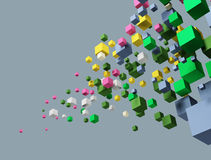 Image of cubes. Stock Photography