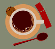 Image of a cup of coffee Royalty Free Stock Image