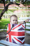 Image of cute baby boy Royalty Free Stock Images
