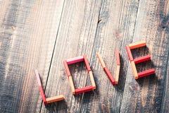Image d'amour Image libre de droits