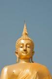 Image d'or de Bouddha Photo libre de droits