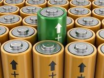image 3d des batteries illustration de vecteur