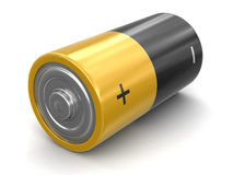 image 3d des batteries Photos libres de droits