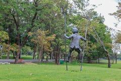 Image d'enfant au jardin Image libre de droits
