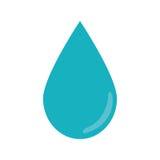 Image d'icône de gouttelette d'eau illustration libre de droits