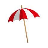 Image d'icône de parasol illustration de vecteur