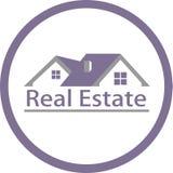 Image d'immobiliers et de logo illustration libre de droits