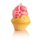 Framboise de petit gâteau Photos stock
