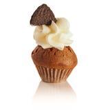 Chocolat de petit gâteau Photographie stock