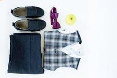 Image d'un uniforme scolaire photo stock