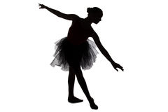 Image of dancing ballerina Stock Photo