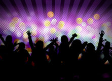Image of dancing people Stock Illustration