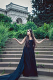 Image of dark queen Royalty Free Stock Images