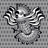 Image décorative de perroquet Photos libres de droits