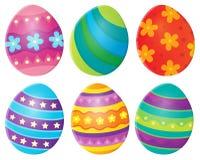 Image décorée 8 de thème d'oeufs de pâques Photographie stock libre de droits