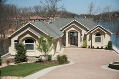 image de 3 maisons images stock