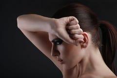 Image de beauté d'une belle femme Photographie stock libre de droits