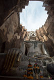 Image de Bouddha au parc de Wat Srichum In Sukhothai Historical Image libre de droits