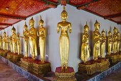 Image de Bouddha dans le temple de la Thaïlande Images libres de droits