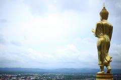 Image de Bouddha dans le temple de Wat Phra That Khao Noi Photo stock