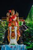 Image de Bouddha de statue de Bouddha utilisée comme amulettes de religion de bouddhisme Photos libres de droits