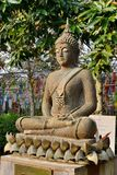 Image de Bouddha faite à partir de l'écrou Photo stock