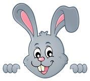 Image de cachette 1 de sujet de lapin de Pâques Image libre de droits