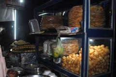 Image de causerie de nourriture Images libres de droits