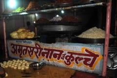 Image de causerie de nourriture Image libre de droits