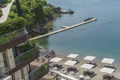 Image de complexe de plage de salon de Dukley Images stock
