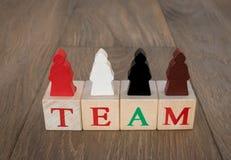 Image de concept d'équipe Images libres de droits