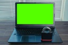 Image de concept de la protection des données images libres de droits