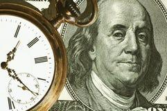 Image de concept de temps et d'argent Photo stock