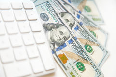 Image de concept des finances et de l'investissement Fin vers le haut Photos stock