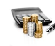 Image de concept pour des déclarations d'impôt II images libres de droits