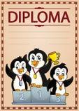 Image 6 de conception de diplôme illustration libre de droits