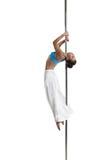 Image de danse érotique de poteau d'interprète artistique image stock