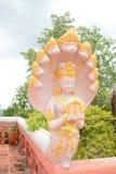 Image de dieux avec le Naga Photos stock