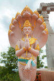 Image de dieux avec le Naga Photographie stock libre de droits
