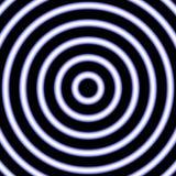 Image de diffusion légère bleu Illustration Stock