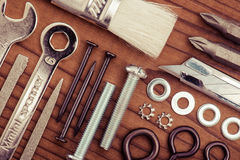 Image de DIY Beaucoup d'outils Photos libres de droits