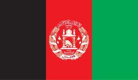 Image de drapeau de l'Afghanistan Photos libres de droits